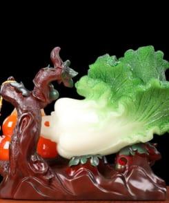 bắp cải hồ lô đỏ phong thủy phát lộc 1