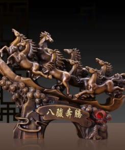 ngựa bát tuấn bôn đằng chiêu tài 1