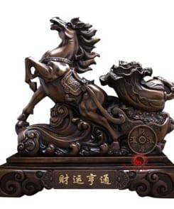 ngựa kéo bắp cải chiêu tài 2