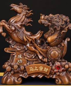 ngựa kéo bắp cải phát tài 2