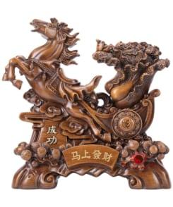 ngựa kéo bắp cải phát tài 3