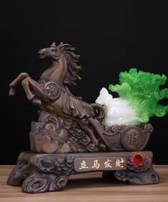 ngựa kéo bắp cải tài lộc 1