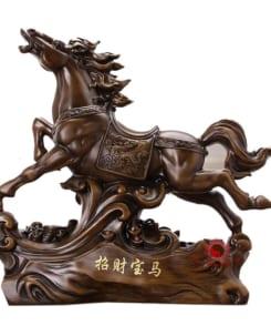 ngựa phong thủy bảo mã chiêu tài lộc 2