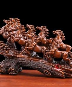 ngựa phong thủy bát mã hùng phong 2