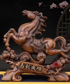 ngựa phong thủy phát tài như ý 1