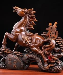 ngựa phong thủy phúc vận tiền trình 3