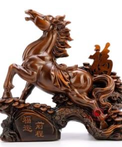 ngựa phong thủy phúc vận tiền trình 4