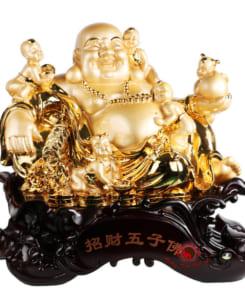 phật di lặc ngũ phúc vàng 2