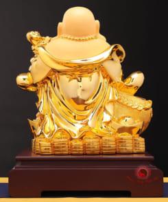 phật di lặc vác bao tiền vàng 3