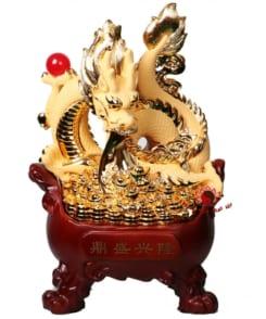 rồng phong thủy rồng cầm ngọc phun châu 5