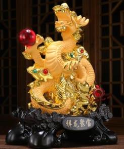 rồng phong thủy rồng phun châu nhả ngọc 3