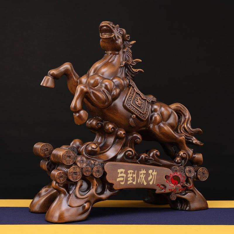 Tượng Ngựa Phong Thủy Mã Đáo Thành Công | Ngựa Tài Lộc | Giá Rẻ