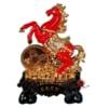 tượng ngựa phong thủy màu đỏ 2