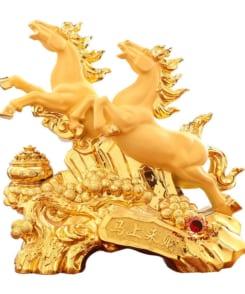 tượng ngựa song mã phi hành 3