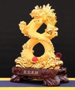 tượng rồng chầu ngọc chiêu tài 3