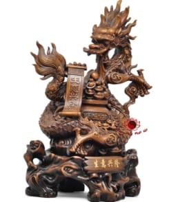 tượng rồng phong thủy sinh ý hưng long 5