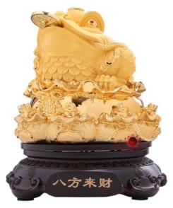 tượng thiềm thừ phong thủy vàng 3