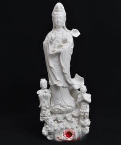 tượng quan âm tiên đồng ngọc nữ 5