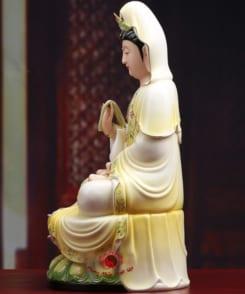 tượng sứ ngài quan âm bồ tát 2