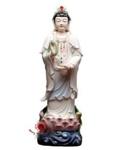 tượng thờ ngài quan âm đứng 5