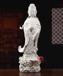 tượng thờ quan thế âm đứng 4