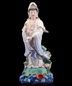 bộ tượng tây phương tam thánh đứng 3