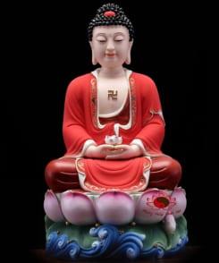 bộ tượng thờ tây phương tam thánh 3