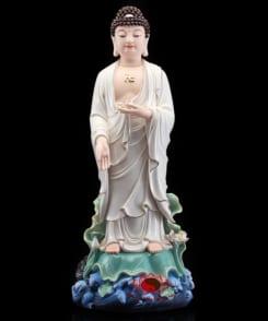 bộ tượng thờ tây phương tam thánh đứng 3