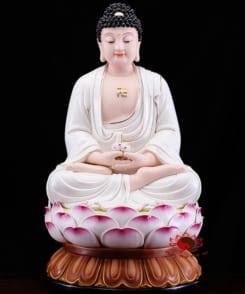bộ tượng thờ tây phương tam thánh ngồi 3