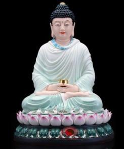 tôn tượng bổn sư thích ca màu xanh 5