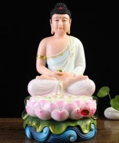 tượng đức bổn sư thích ca ngồi tòa sen 1