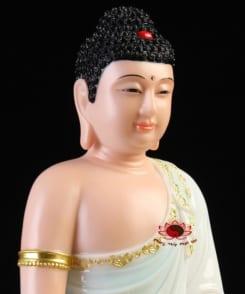 tượng đức bổn sư thích ca ngồi tòa sen 5