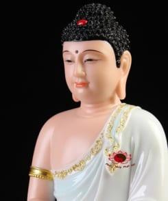 tượng đức bổn sư thích ca ngồi tòa sen 6