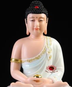 tượng đức bổn sư thích ca ngồi tòa sen 7