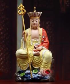 tượng đức địa tạng ngồi gốm sứ phúc kiến 5