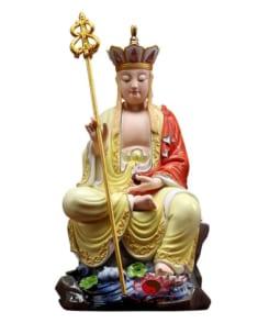 tượng đức địa tạng ngồi gốm sứ phúc kiến 6