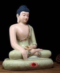 tượng đức phật thích ca đẹp bằng đá cẩm thạch 3