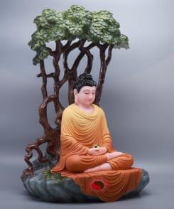 tượng đức phật thích ca ngồi dưới gốc bồ đề 4