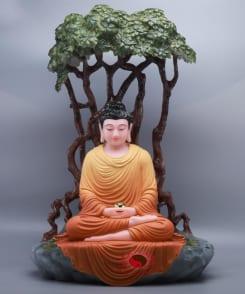 tượng đức phật thích ca ngồi dưới gốc bồ đề 5