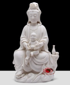tượng đức quan âm tống tử ngồi 4