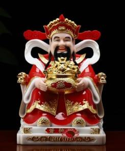 tượng ông thần phát màu đỏ phú quý 8