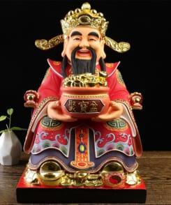 tượng ông thần tiền phát lộc phát tài 9