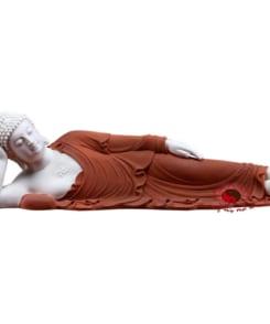 tượng phật nằm bằng gốm sứ cao cấp 5