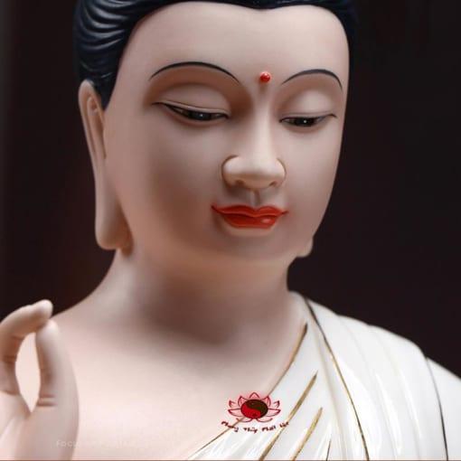 tượng phật thích ca gốm sứ cao cấp 2