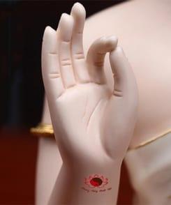 tượng phật thích ca gốm sứ cao cấp 3