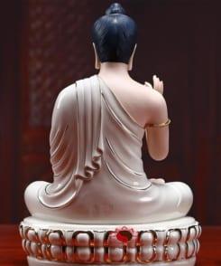 tượng phật thích ca gốm sứ cao cấp 4