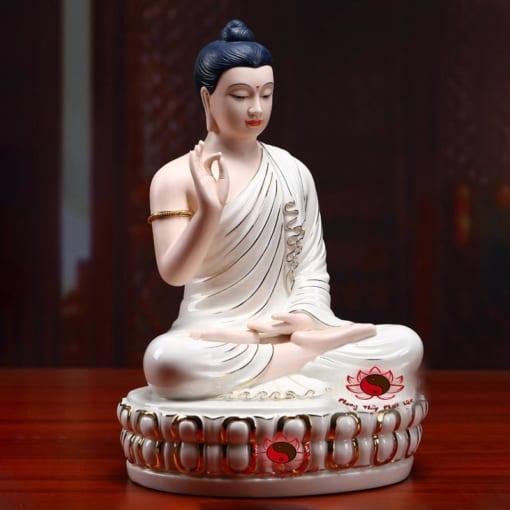 tượng phật thích ca gốm sứ cao cấp 5