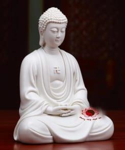 tượng sứ phật a di đà ngồi kiết già 6