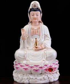 tượng tây phương tam thánh ngồi 3