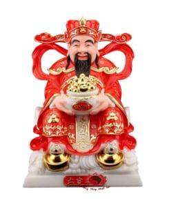 tượng thần phát dâng vàng cẩm thạch cao cấp 6